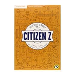 CITIZEN Z STUDENTS BOOK B1+