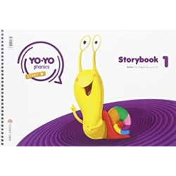 PACK STORYBOOK 1 YO YO PHONICS