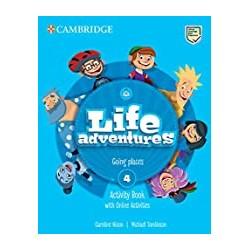 INGLES LIFE ADVENTURE LEVEL 4 ACTIVITY BOOK