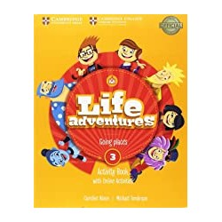 INGLES LIFE ADVENTURES 3 AB/HOME BOOKLET